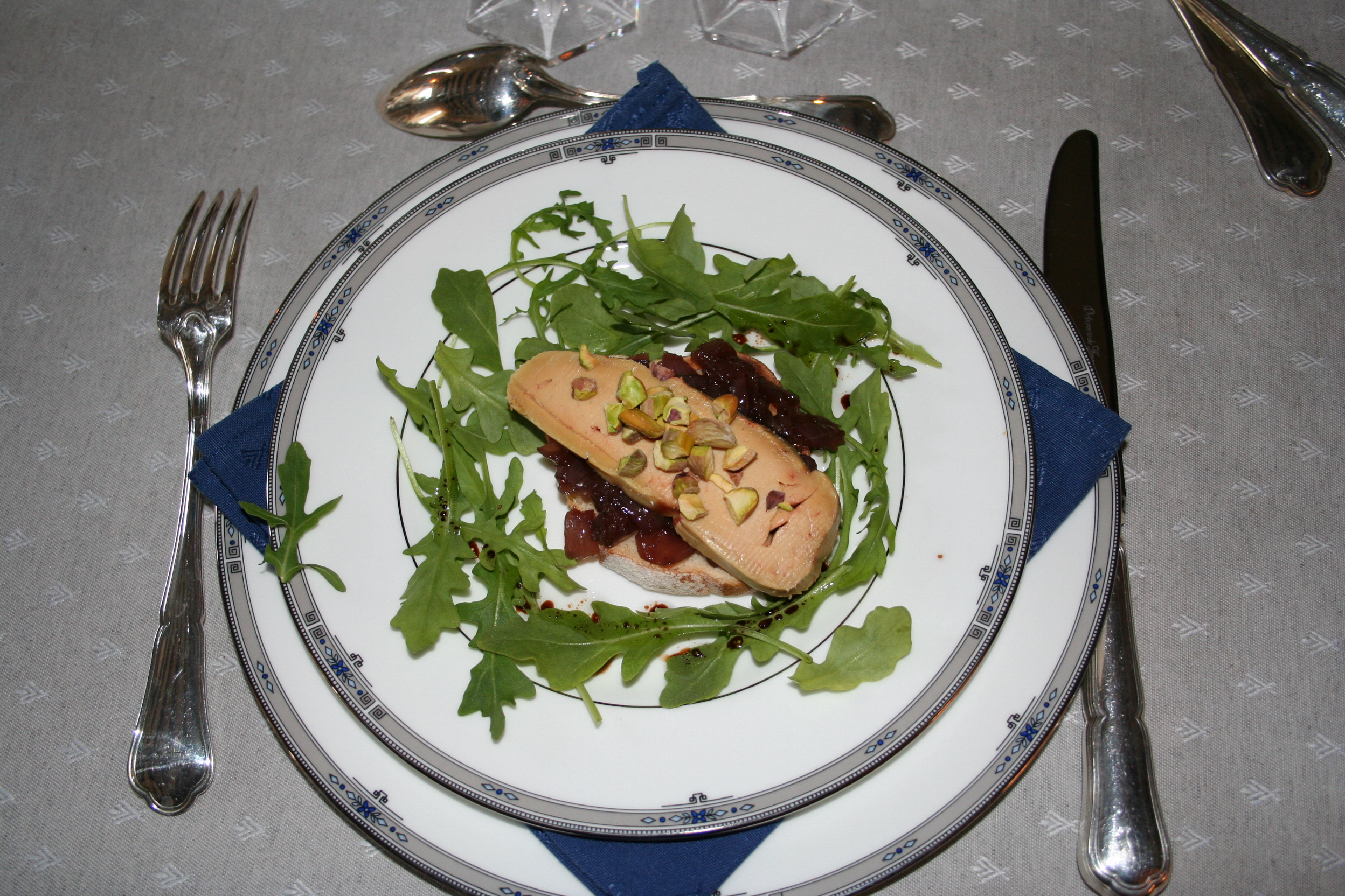 Juin 2007 la cuisine des toqu es for Entree avec du foie gras froid